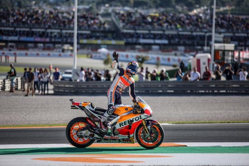 Marc Marquez crowned 2017 MotoGP champion Image #736847
