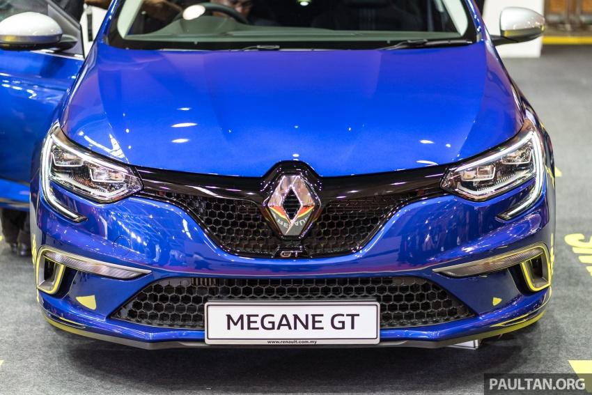 Renault Megane GT dipertontonkan di Malaysia Image #735899