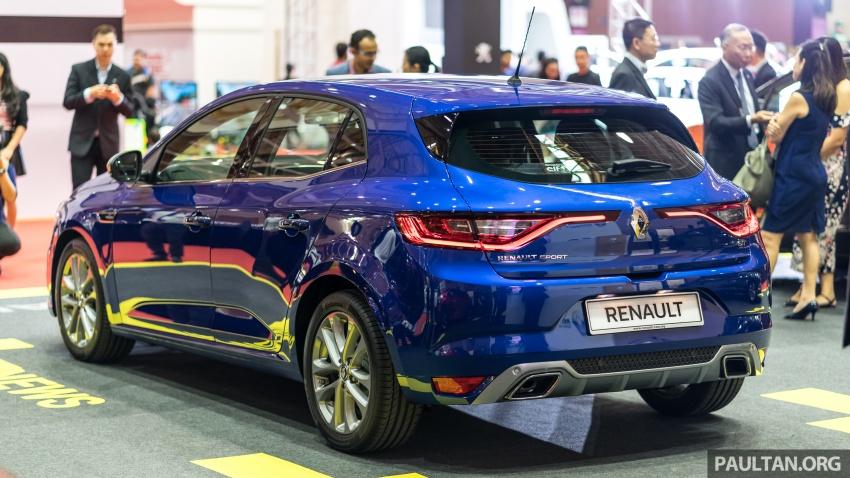 Renault Megane GT dipertontonkan di Malaysia Image #735900