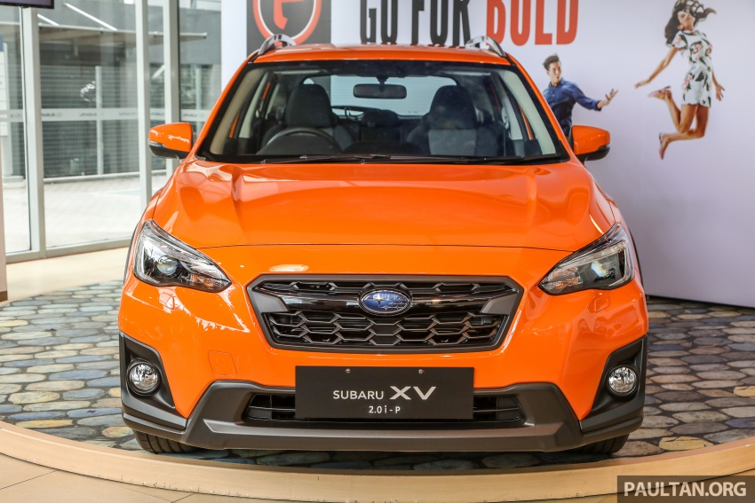2018 Subaru XV launched in Malaysia – two variants, 2.0i and 2.0i-P, priced from RM119k to RM126k Image #745642