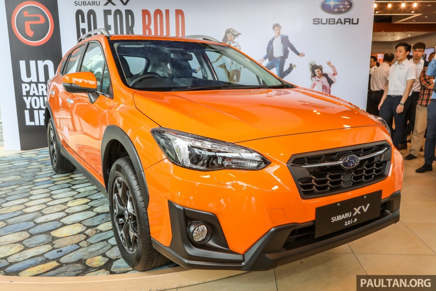 2018 Subaru XV launched in Malaysia – two variants, 2.0i and 2.0i-P, priced from RM119k to RM126k Image #745643