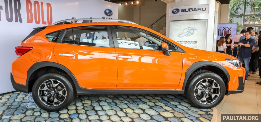 2018 Subaru XV launched in Malaysia – two variants, 2.0i and 2.0i-P, priced from RM119k to RM126k Image #745644