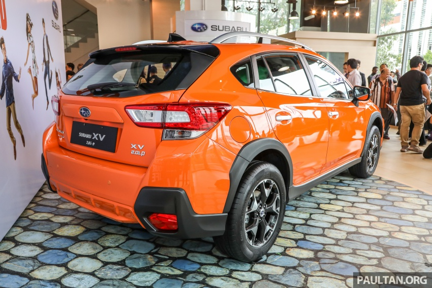 2018 Subaru XV launched in Malaysia – two variants, 2.0i and 2.0i-P, priced from RM119k to RM126k Image #745645