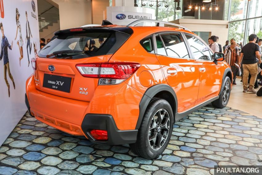 Subaru XV 2018 kini di Malaysia – bermula RM119k Image #745580