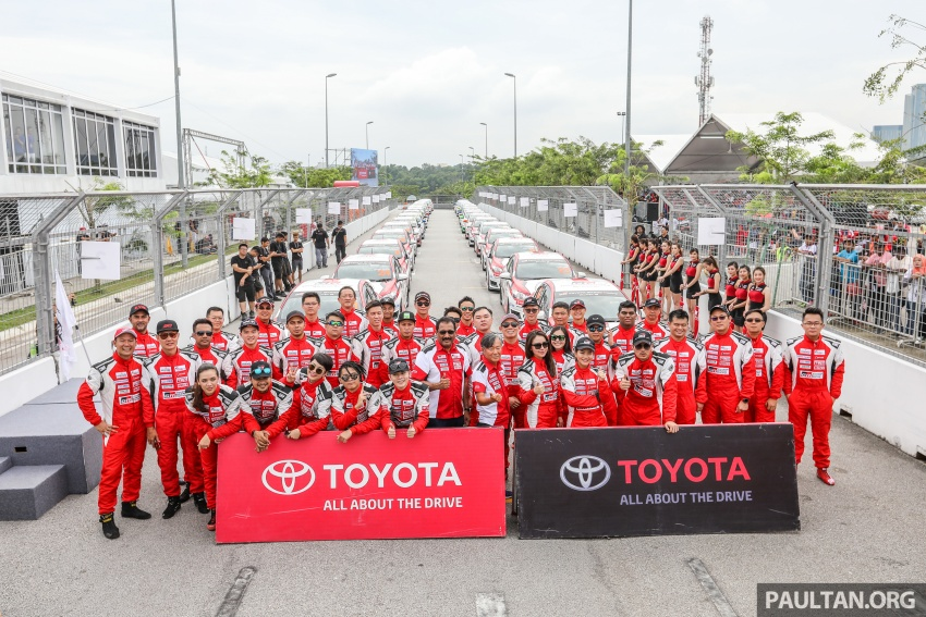 Toyota Gazoo Racing festival – thrills, spills at MAEPS Image #744378