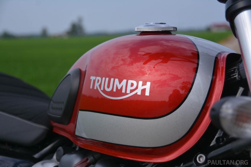 REVIEW: 2017 Triumph Street Scrambler – RM65,900 Image #740209