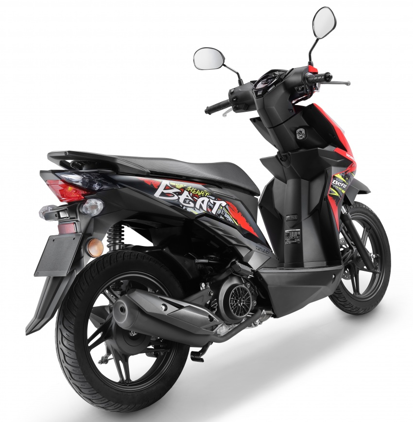 2018 Honda BeAT scooter now on sale – RM5,724 Image #739948