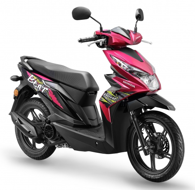 Aimed At The Younger Crowd Especially Senior High School And College Students 2018 Honda BeAT Comes With New Graffiti Graphics Is Priced RM5724