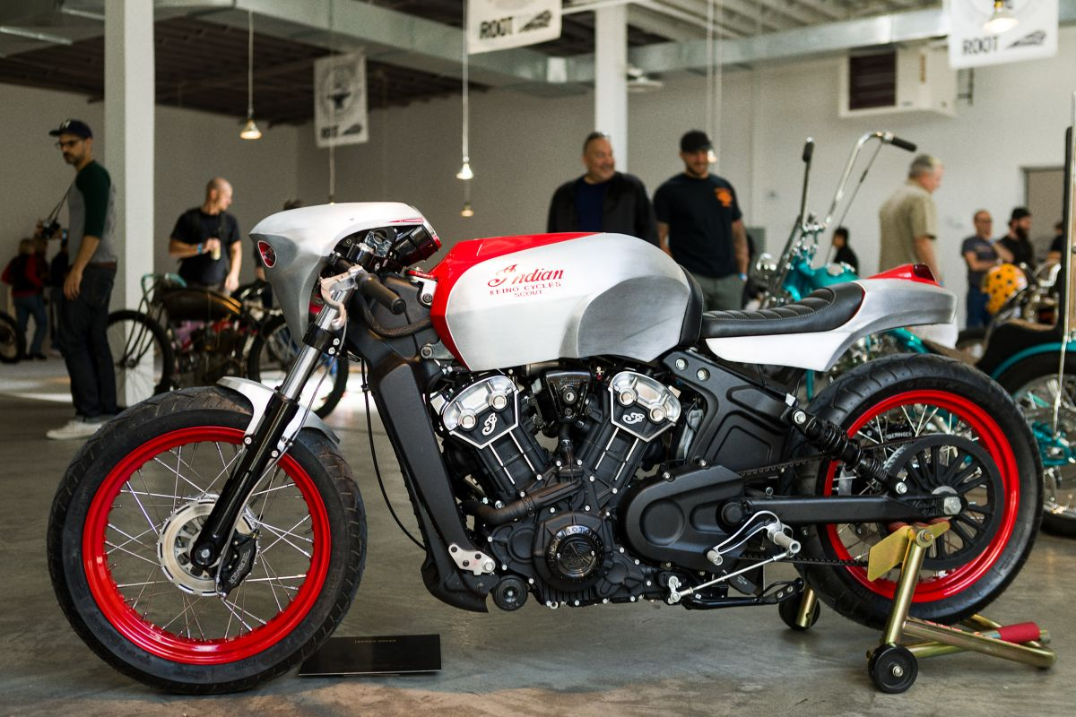 Indian Motorcycles Shows Scout Bobber Custom Bikes Paultan Org