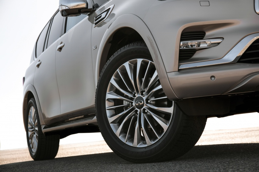 Infiniti QX80 facelift unveiled in Dubai – refreshed flagship SUV coming to Malaysia in 2018 Image #737721