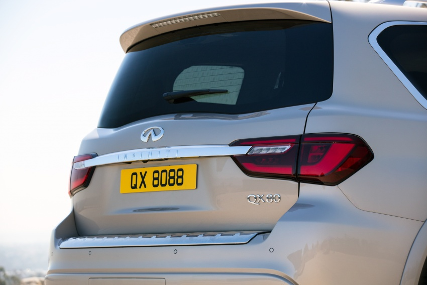 Infiniti QX80 facelift unveiled in Dubai – refreshed flagship SUV coming to Malaysia in 2018 Image #737723