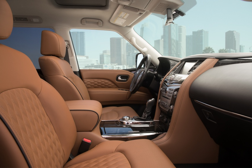 Infiniti QX80 facelift unveiled in Dubai – refreshed flagship SUV coming to Malaysia in 2018 Image #737727