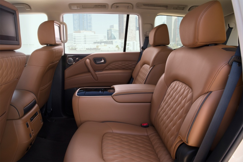 Infiniti QX80 facelift unveiled in Dubai – refreshed flagship SUV coming to Malaysia in 2018 Image #737729