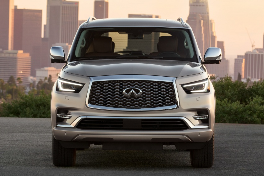 Infiniti QX80 facelift unveiled in Dubai – refreshed flagship SUV coming to Malaysia in 2018 Image #737710
