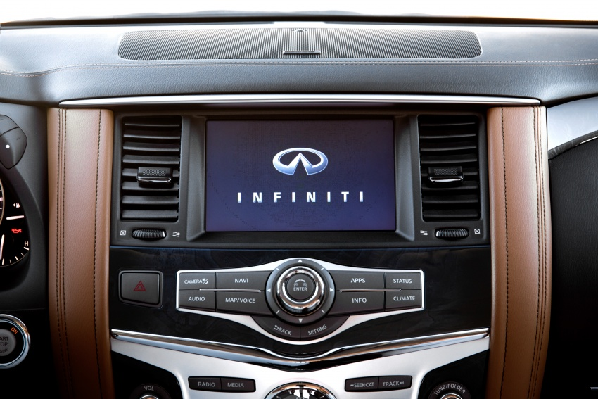 Infiniti QX80 facelift unveiled in Dubai – refreshed flagship SUV coming to Malaysia in 2018 Image #737733