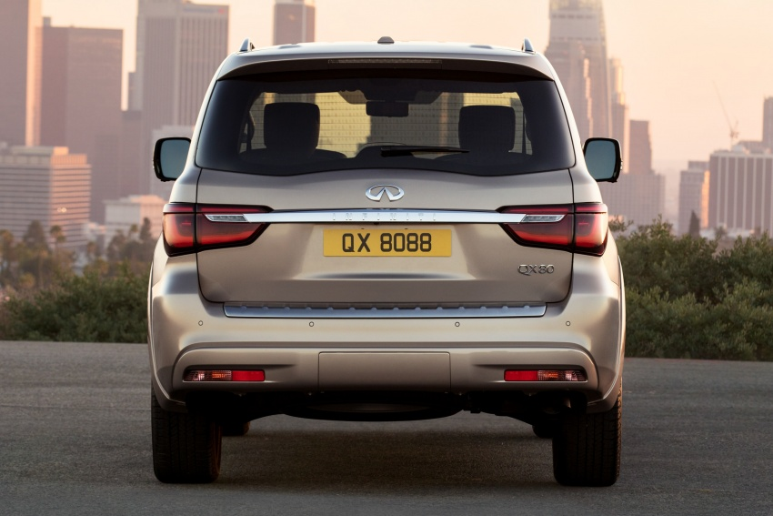 Infiniti QX80 facelift unveiled in Dubai – refreshed flagship SUV coming to Malaysia in 2018 Image #737711