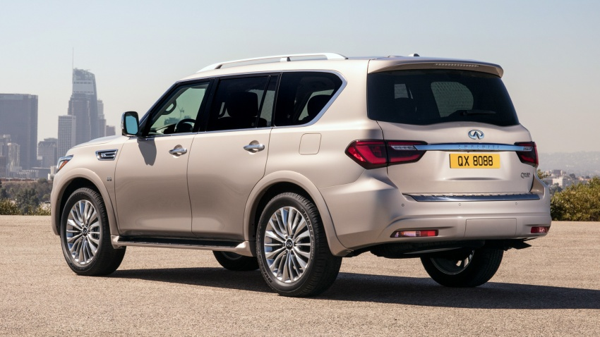 Infiniti QX80 facelift unveiled in Dubai – refreshed flagship SUV coming to Malaysia in 2018 Image #737712