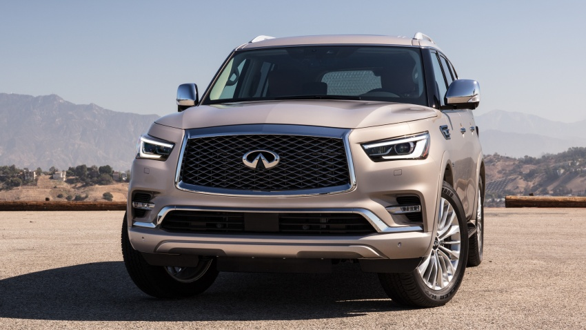 Infiniti QX80 facelift unveiled in Dubai – refreshed flagship SUV coming to Malaysia in 2018 Image #737713