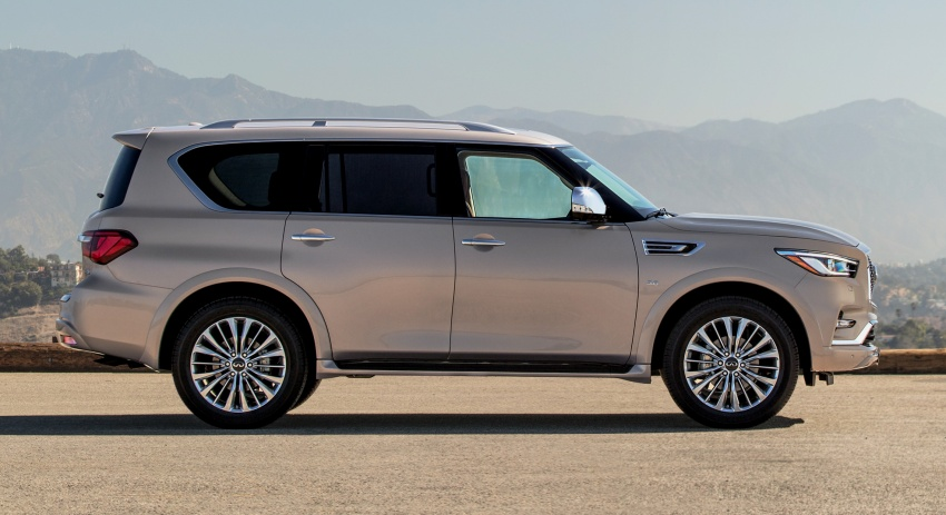 Infiniti QX80 facelift unveiled in Dubai – refreshed flagship SUV coming to Malaysia in 2018 Image #737714