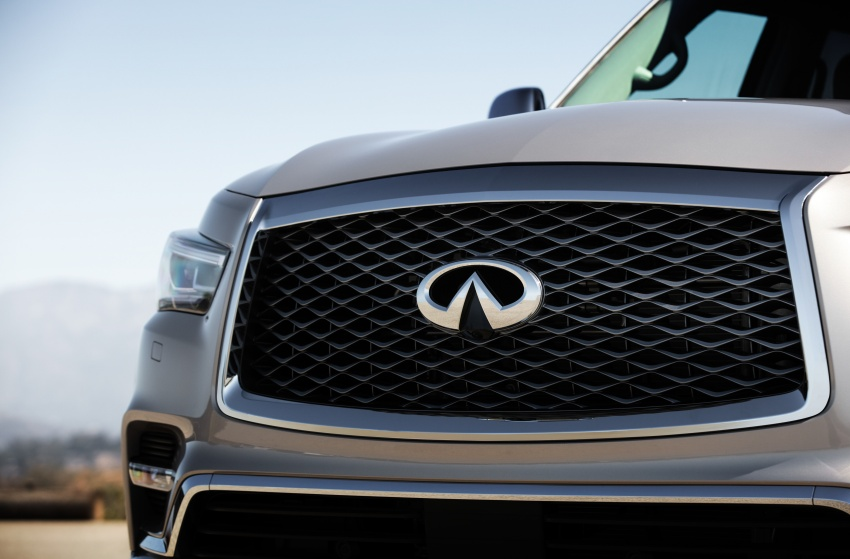 Infiniti QX80 facelift unveiled in Dubai – refreshed flagship SUV coming to Malaysia in 2018 Image #737716