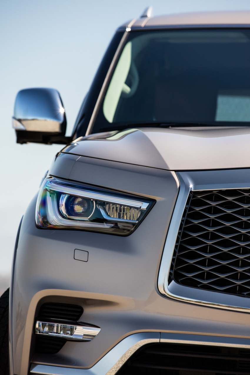Infiniti QX80 facelift unveiled in Dubai – refreshed flagship SUV coming to Malaysia in 2018 Image #737719
