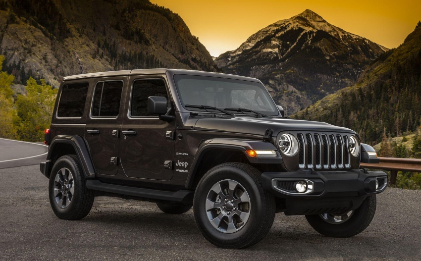 2018 Jeep Wrangler – first official images released Image #731468