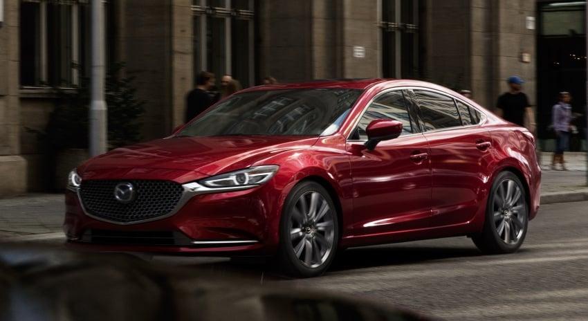 2018 Mazda 6 facelift makes LA debut with 2.5L turbo Image #745501