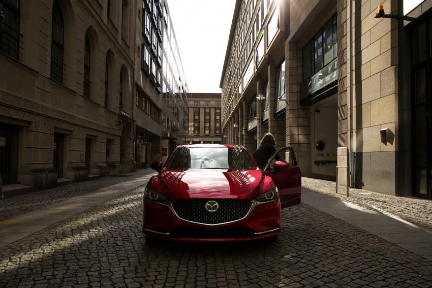 Mazda 6 facelift 2018 buat kemunculan sulung di Los Angeles – kini tampil dengan enjin 2.5 liter turbo Image #745722