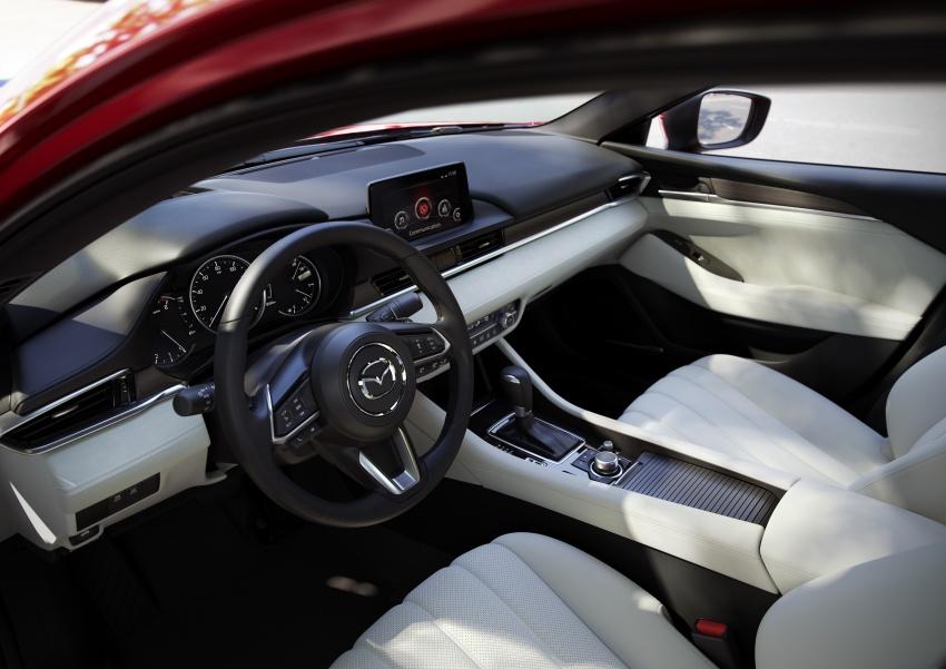 Mazda 6 facelift 2018 buat kemunculan sulung di Los Angeles – kini tampil dengan enjin 2.5 liter turbo Image #745723