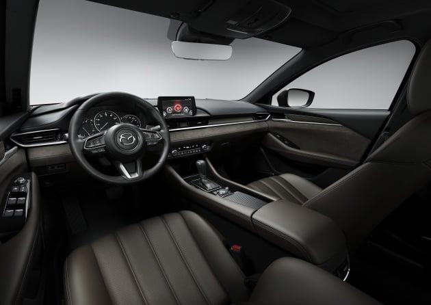 2018 Mazda 6 Facelift Makes La Debut With 2 5l Turbo