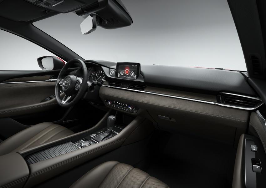Mazda 6 facelift 2018 buat kemunculan sulung di Los Angeles – kini tampil dengan enjin 2.5 liter turbo Image #745732