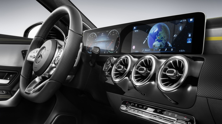 2018 Mercedes-Benz A-Class – interior revealed in full Image #742517