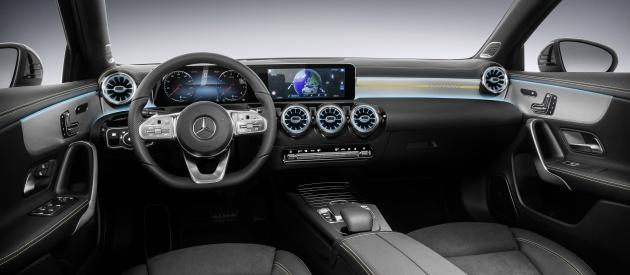 2018 Mercedes-Benz A-Class: better comfort, handling, new