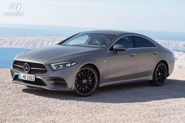 2018 Mercedes Benz Cls Official Images Leaked