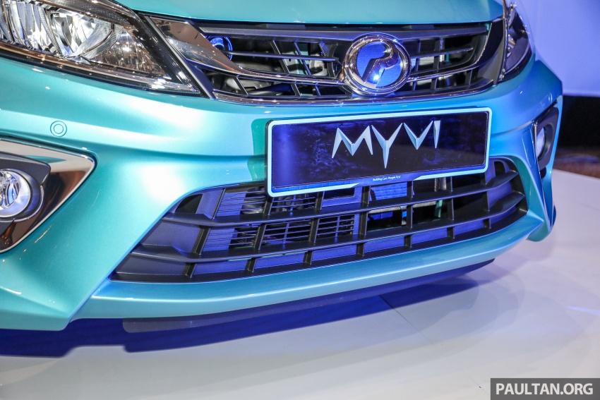Perodua Myvi 2018 dilancarkan di Malaysia – model generasi baharu, 1.3L dan 1.5L, bermula RM44,300 Image #739828