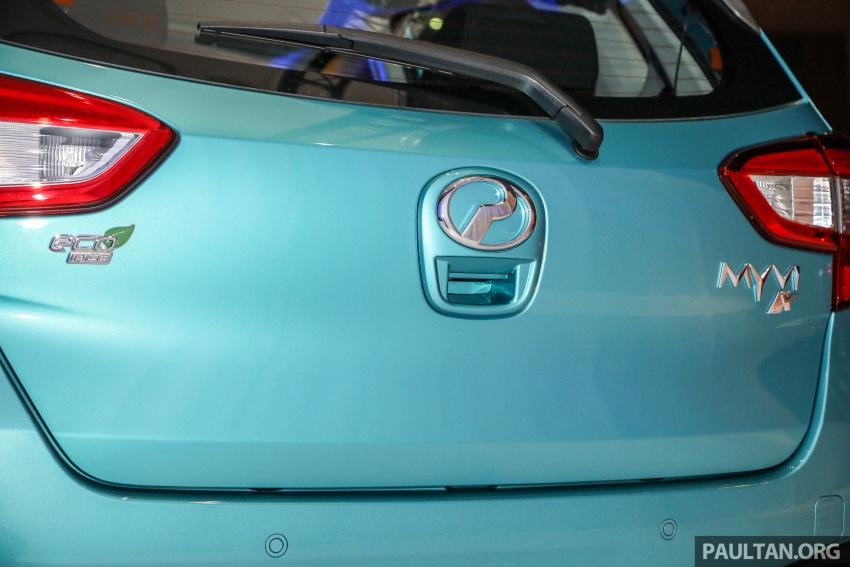 Perodua Myvi 2018 dilancarkan di Malaysia – model generasi baharu, 1.3L dan 1.5L, bermula RM44,300 Image #739838