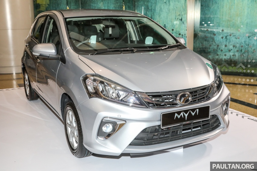 2018 Perodua Myvi officially launched in Malaysia – now with full details and pics, priced from RM44,300 Image #739714