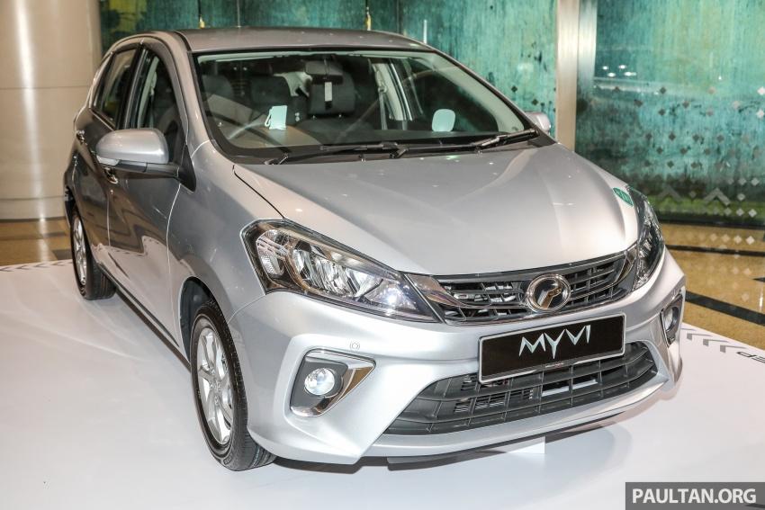 Perodua Myvi 2018 dilancarkan di Malaysia – model generasi baharu, 1.3L dan 1.5L, bermula RM44,300 Image #739843