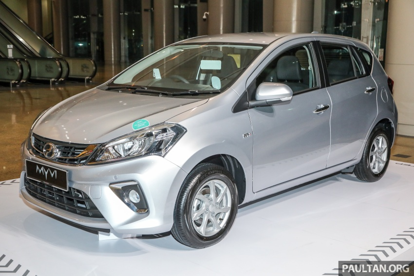 2018 Perodua Myvi officially launched in Malaysia – now with full details and pics, priced from RM44,300 Image #739716