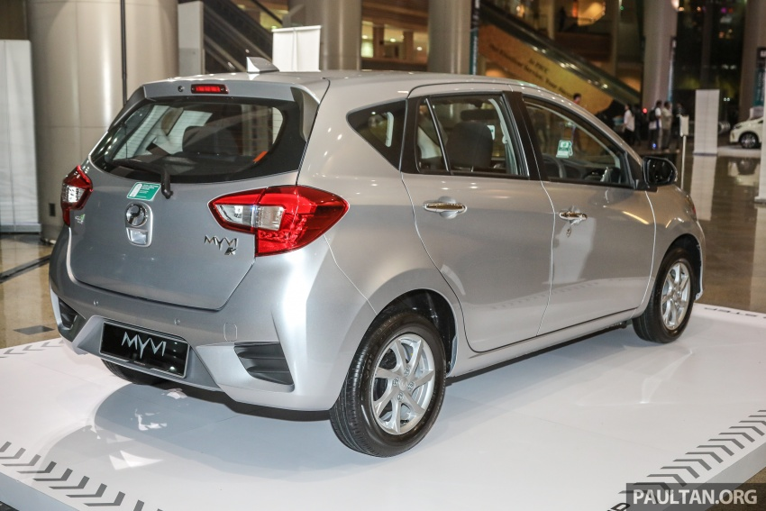 2018 Perodua Myvi officially launched in Malaysia – now with full details and pics, priced from RM44,300 Image #739717