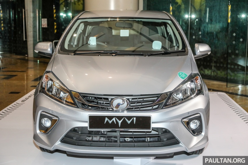 2018 Perodua Myvi officially launched in Malaysia – now with full details and pics, priced from RM44,300 Image #739720