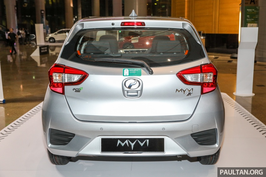 Perodua Myvi 2018 dilancarkan di Malaysia – model generasi baharu, 1.3L dan 1.5L, bermula RM44,300 Image #739849