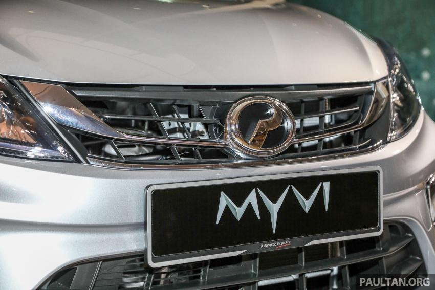 Perodua Myvi 2018 dilancarkan di Malaysia – model generasi baharu, 1.3L dan 1.5L, bermula RM44,300 Image #739853