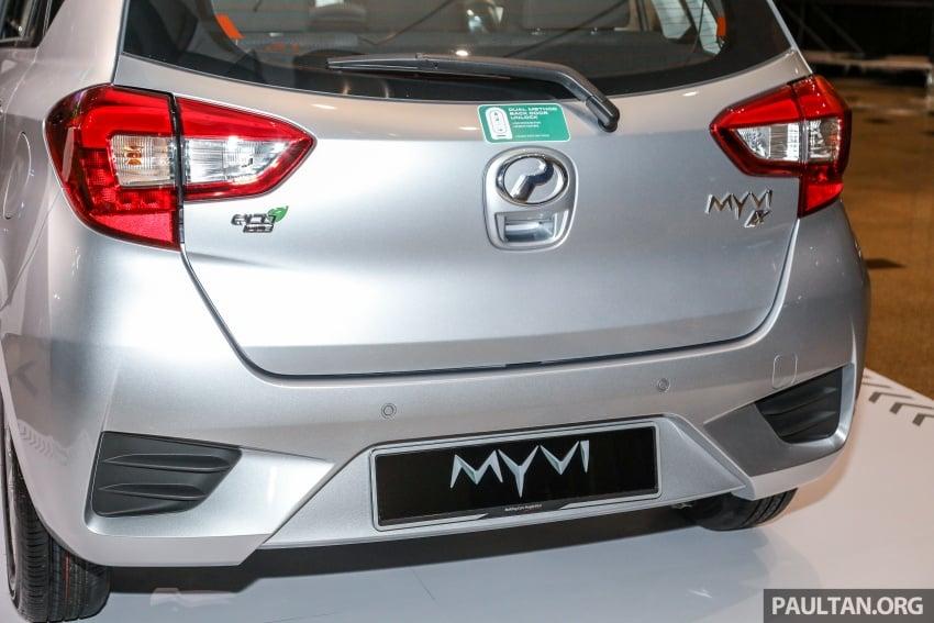 Perodua Myvi 2018 dilancarkan di Malaysia – model generasi baharu, 1.3L dan 1.5L, bermula RM44,300 Image #739861