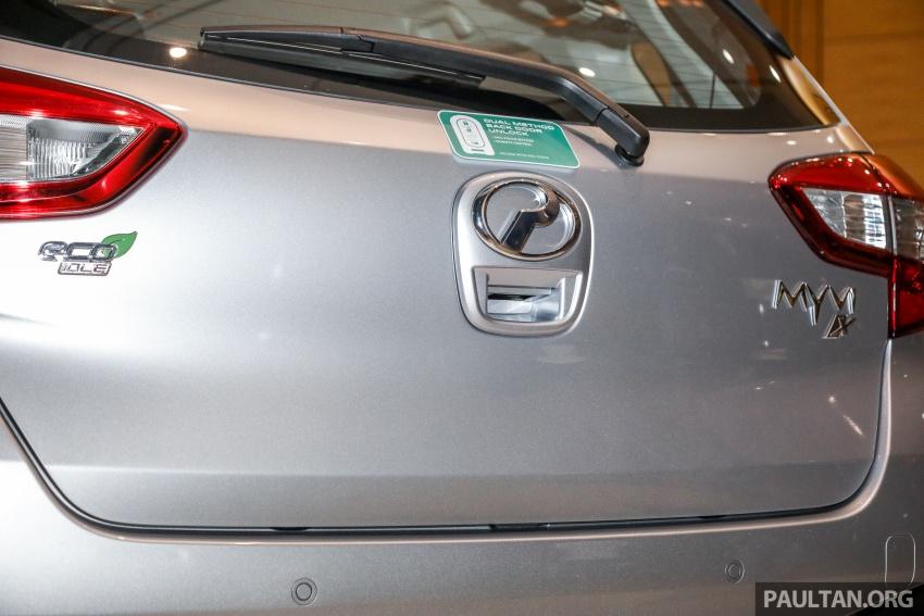 Perodua Myvi 2018 dilancarkan di Malaysia – model generasi baharu, 1.3L dan 1.5L, bermula RM44,300 Image #739864