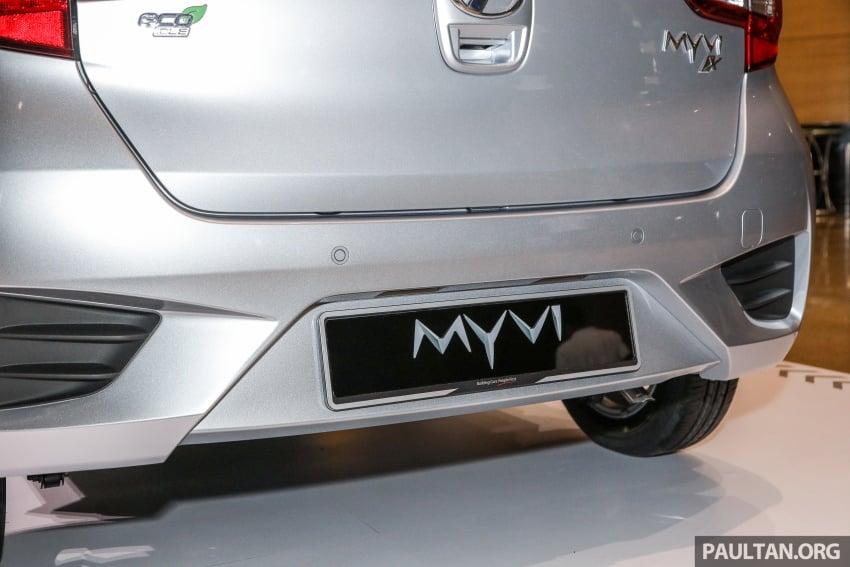 Perodua Myvi 2018 dilancarkan di Malaysia – model generasi baharu, 1.3L dan 1.5L, bermula RM44,300 Image #739866