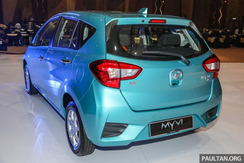 Perodua Myvi 2018 dilancarkan di Malaysia – model generasi baharu, 1.3L dan 1.5L, bermula RM44,300 Image #739820