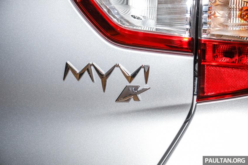 Perodua Myvi 2018 dilancarkan di Malaysia – model generasi baharu, 1.3L dan 1.5L, bermula RM44,300 Image #739869