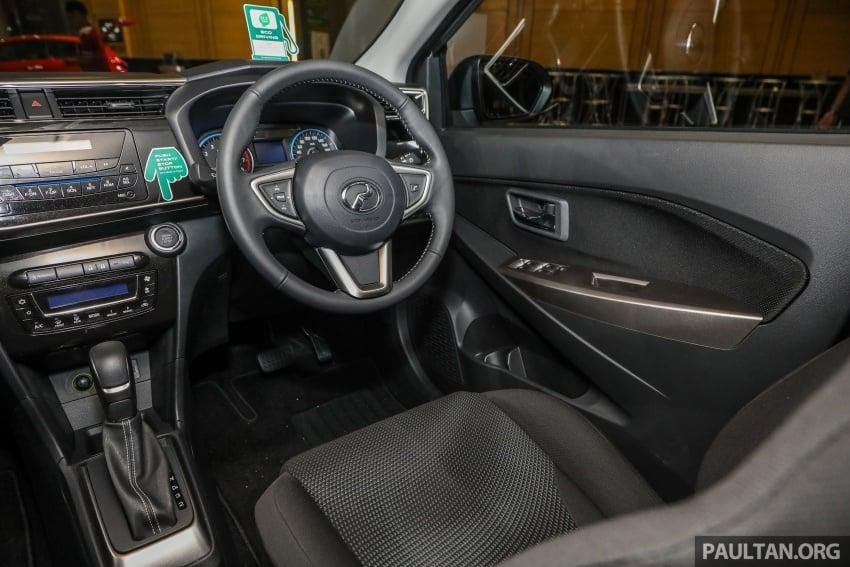 Perodua Myvi 2018 dilancarkan di Malaysia – model generasi baharu, 1.3L dan 1.5L, bermula RM44,300 Image #739887