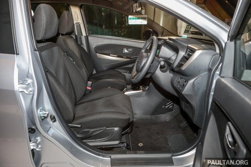 Perodua Myvi 2018 dilancarkan di Malaysia – model generasi baharu, 1.3L dan 1.5L, bermula RM44,300 Image #739889